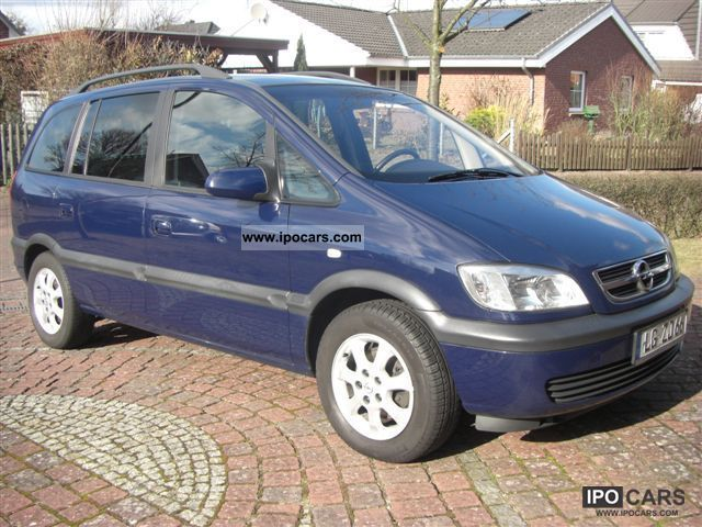 2003 opel dti zafira 2 0 njoy car photo and specs. Black Bedroom Furniture Sets. Home Design Ideas