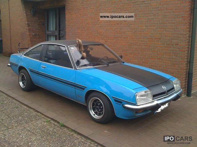 Opel  Manta 1977 Vintage, Classic and Old Cars photo