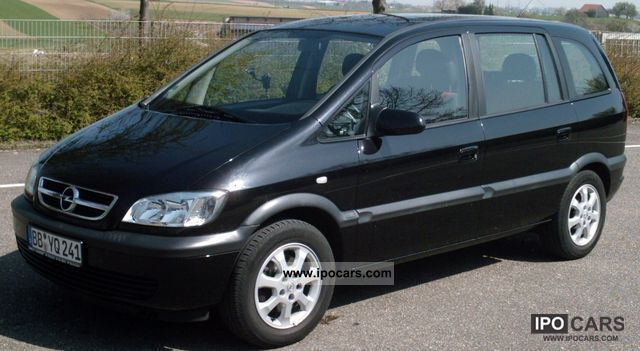 2003 opel zafira 1 8 16v sport line car photo and specs. Black Bedroom Furniture Sets. Home Design Ideas