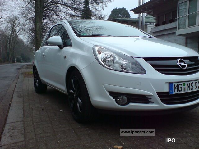 2009 opel corsa 1 4 16v color edition car photo and specs. Black Bedroom Furniture Sets. Home Design Ideas