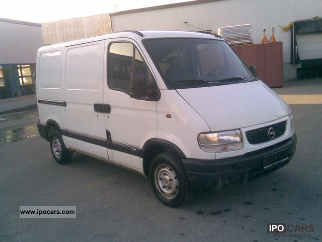 2000 Opel  Movano 2.5 D-Truck approval - 1 HAND 2.8 tons Van / Minibus Used vehicle photo