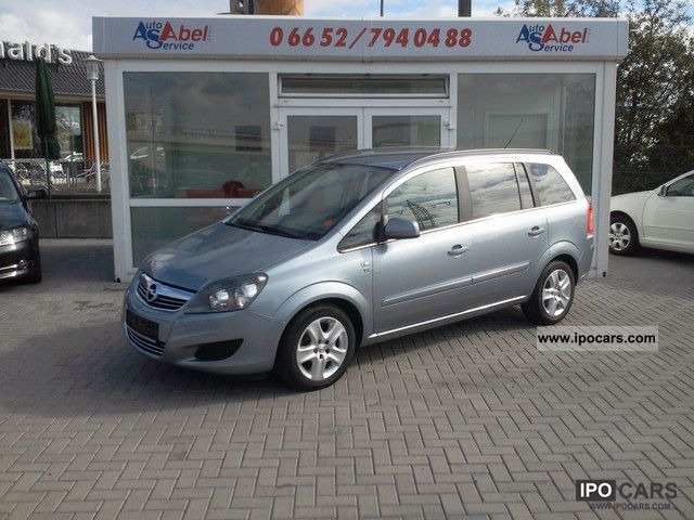 2010 opel zafira 1 9cdti edition 111jahre car photo and specs. Black Bedroom Furniture Sets. Home Design Ideas