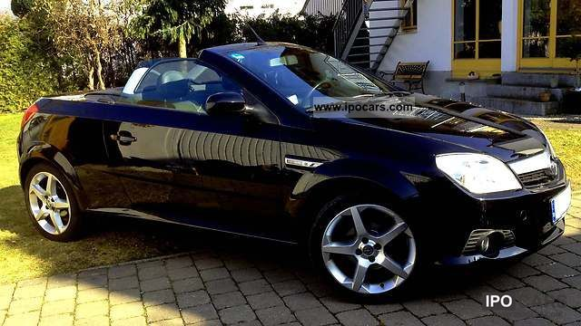2006 opel tigra twin top 1 8 sport car photo and specs. Black Bedroom Furniture Sets. Home Design Ideas