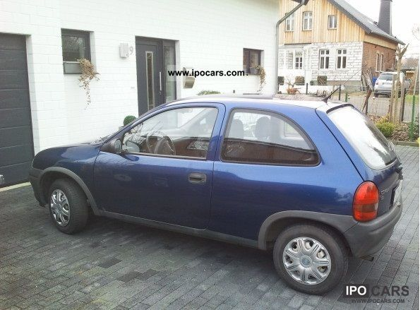 1998 opel corsa b car photo and specs. Black Bedroom Furniture Sets. Home Design Ideas