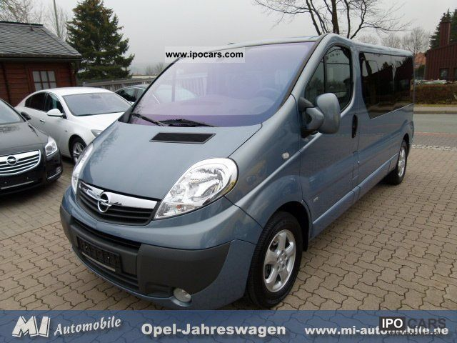 2010 opel vivaro 2 5 cdti life l2 7 seater standheiz car photo and specs. Black Bedroom Furniture Sets. Home Design Ideas