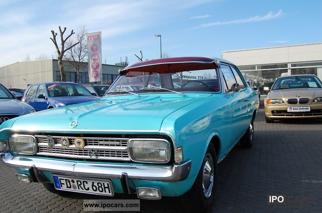 Opel  WELL MAINTAINED ** C ** record 1971 Vintage, Classic and Old Cars photo