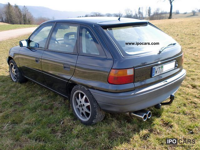 1992 Opel Astra F 1 8i Gt Car Photo And Specs