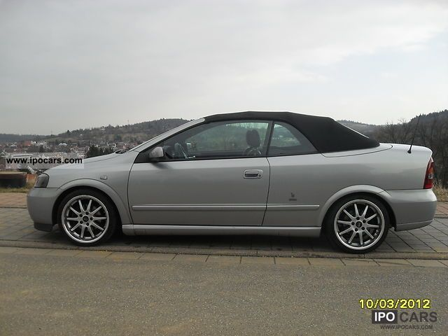 2002 Opel Astra Convertible 1.8 16V - Car Photo and Specs