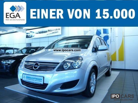 2011 Opel  Zafira 1.8 Edition 111 years. Van / Minibus Used vehicle photo