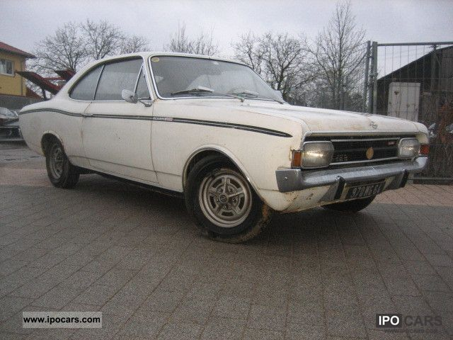 Opel  Rekord C Sprint Coupe 1968 Vintage, Classic and Old Cars photo