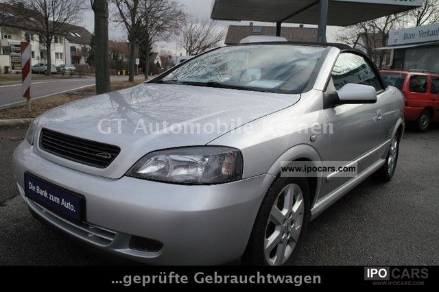 2003 Opel  Astra 2.2 16V Cab / HU / AU 02.2014/Garantie Cabrio / roadster Used vehicle photo