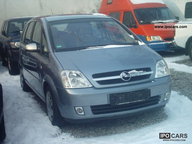 2004 Opel  1.7 DTI Meriva Cosmo + climate control Van / Minibus Used vehicle photo