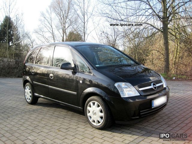 2004 opel meriva 1 7 dti climate car photo and specs. Black Bedroom Furniture Sets. Home Design Ideas