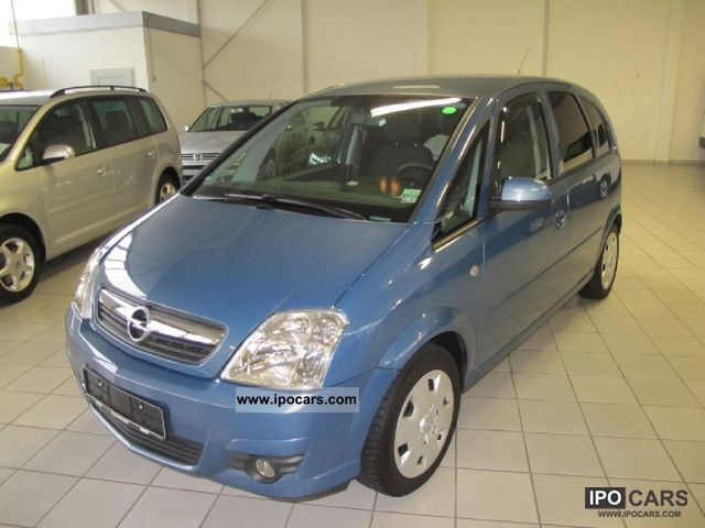 Opel  Meriva 1.6 16V Twinport Edition + + gas system 2008 Liquefied Petroleum Gas Cars (LPG, GPL, propane) photo