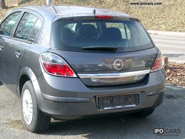 2009 Opel Astra 1 6 Car Photo And Specs