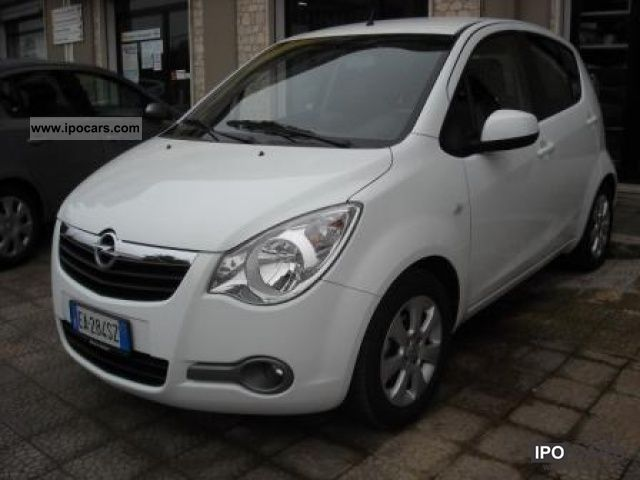 Opel  Agila 1.2 16V Enjoy 86CV GPL-TECH 2010 Liquefied Petroleum Gas Cars (LPG, GPL, propane) photo