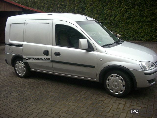 Opel  Combo 1.6 CNG with air first Hand 2 sliding doors 2007 Compressed Natural Gas Cars (CNG, methane, CH4) photo