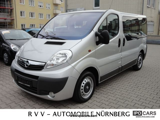 2007 opel vivaro 2 5 cdti l1h1 tecshift easytronic 9 si car photo and specs. Black Bedroom Furniture Sets. Home Design Ideas