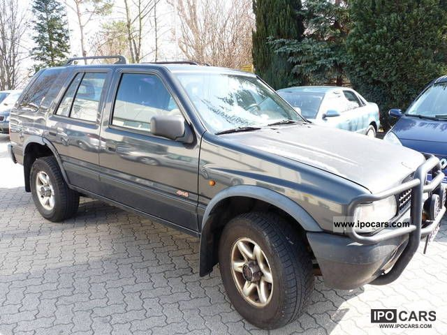 1995 opel frontera 4x4 2 2 16v car photo and specs. Black Bedroom Furniture Sets. Home Design Ideas