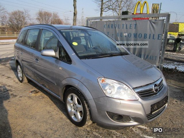 2009 opel zafira 1 7 cdti edition climate control car photo and specs. Black Bedroom Furniture Sets. Home Design Ideas