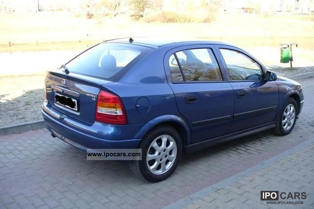 2002 opel astra car photo and specs. Black Bedroom Furniture Sets. Home Design Ideas