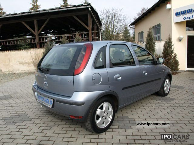 2004 opel corsa 1 2 climate heated seats 5 doors car photo and specs. Black Bedroom Furniture Sets. Home Design Ideas