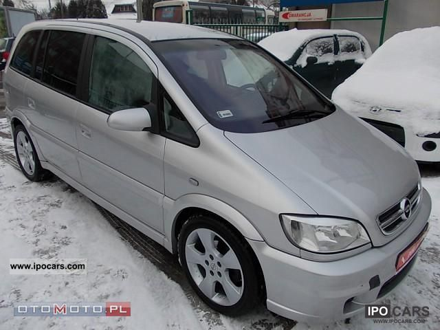2004 Opel  Zafira OPC Other Used vehicle photo