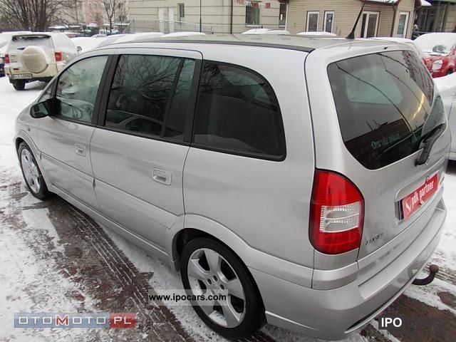2004 opel zafira opc car photo and specs. Black Bedroom Furniture Sets. Home Design Ideas