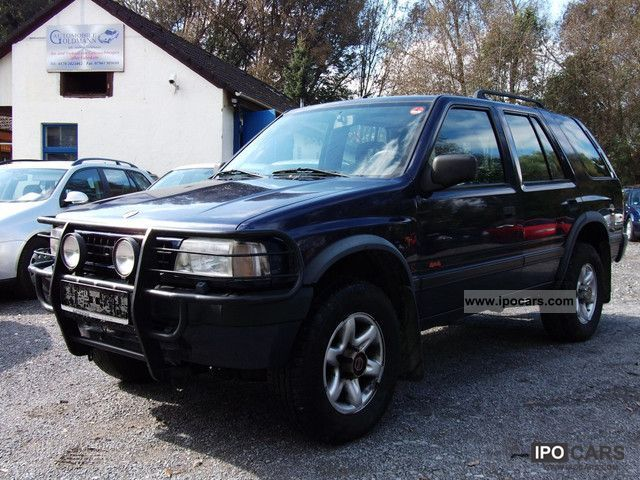 1996 opel frontera 2 5 tds 4x4 esd ahk air long car photo and specs. Black Bedroom Furniture Sets. Home Design Ideas