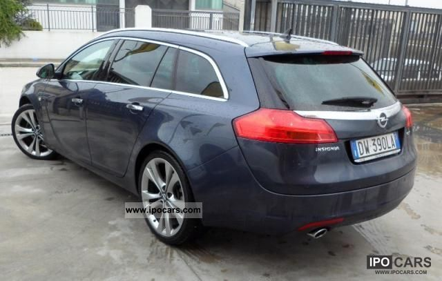 2009 opel insignia 2 0 cdti 160cv sp tourer station wagon
