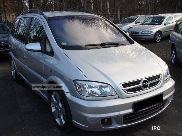 2003 opel zafira 2 2 dti sport recaro edition 17 car photo and specs. Black Bedroom Furniture Sets. Home Design Ideas