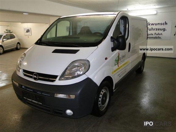 2005 Opel  Vivaro 2.5 CDTI L1H1 AHK Air Navi-frosted 8 times Van / Minibus Used vehicle photo