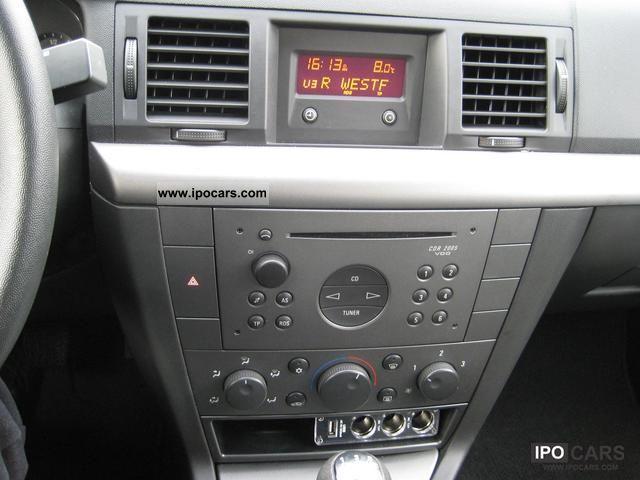 Vectra 2002 Interior 2002 Opel Vectra 2.2