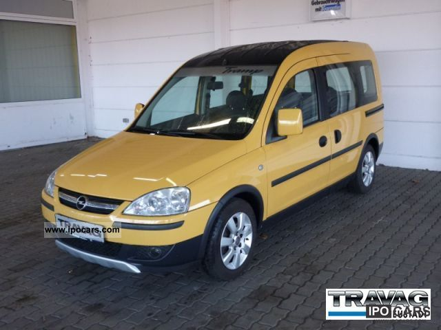 2007 opel combo 1 7 cdti tramp car photo and specs. Black Bedroom Furniture Sets. Home Design Ideas