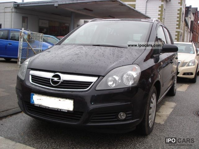 2005 opel zafira 1 6 first edition 2 hand euro4 wr sr aluminum. Black Bedroom Furniture Sets. Home Design Ideas