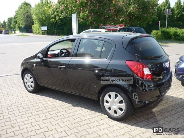 2010 opel corsa 1 2 16v ed 111 years by the dealer car photo and specs. Black Bedroom Furniture Sets. Home Design Ideas