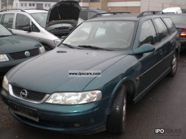2000 Opel  Caravan Vectra 1.8 Comfort Estate Car Used vehicle photo