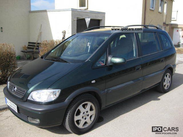 1998 opel zafira elegance car photo and specs. Black Bedroom Furniture Sets. Home Design Ideas