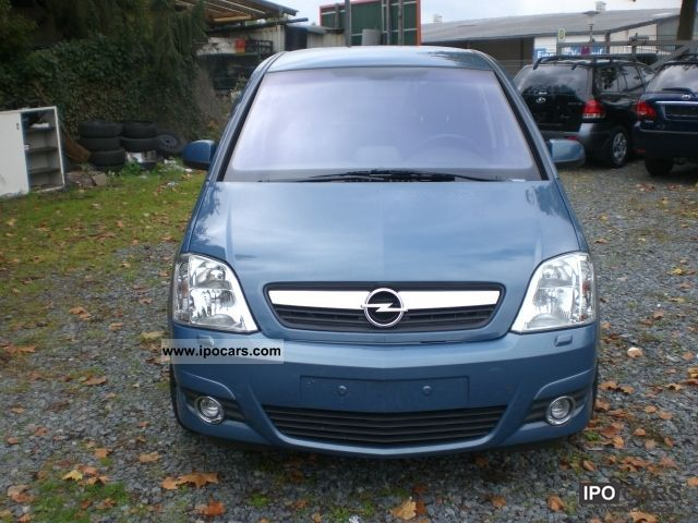 2007 opel meriva 1 7 cdti dpf cosmo car photo and specs. Black Bedroom Furniture Sets. Home Design Ideas