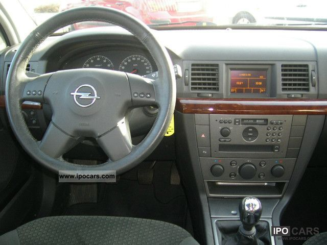 опель вектра 2002