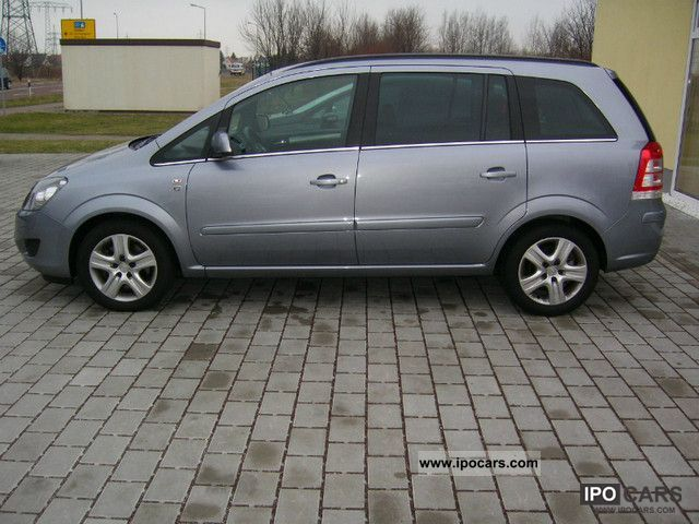 2010 opel zafira 1 9 cdti car photo and specs. Black Bedroom Furniture Sets. Home Design Ideas