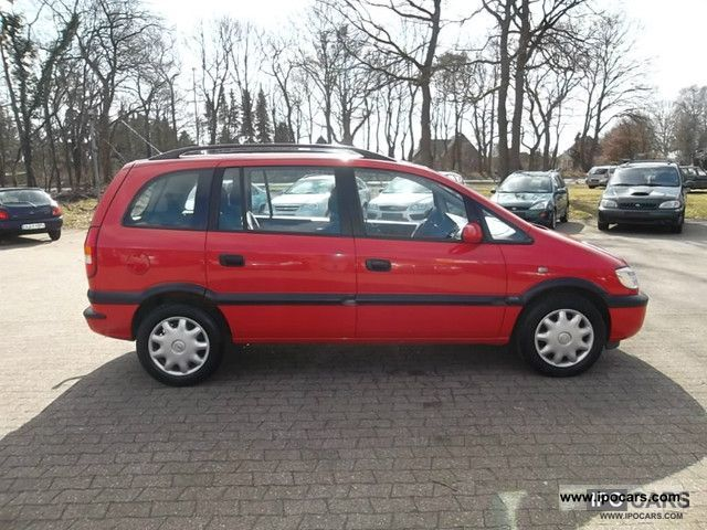 2002 opel zafira 2 0 dti selection car photo and specs. Black Bedroom Furniture Sets. Home Design Ideas