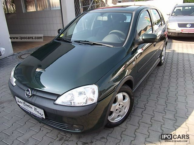 2002 opel corsa 1 7 dti 16v climate alu zv 5 t ren euro 3 car photo and specs. Black Bedroom Furniture Sets. Home Design Ideas