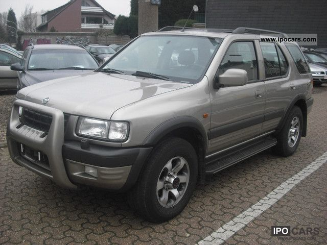 Opel  Frontera 3.2 LEATHER, LPG GAS PLANT, MOT-NEW! 2000 Liquefied Petroleum Gas Cars (LPG, GPL, propane) photo