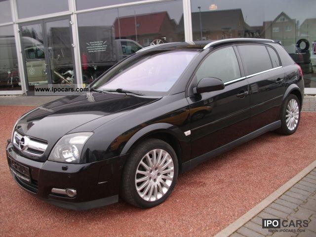 2005 opel signum 1 9 cdti edition xenon apc euro 4 car. Black Bedroom Furniture Sets. Home Design Ideas