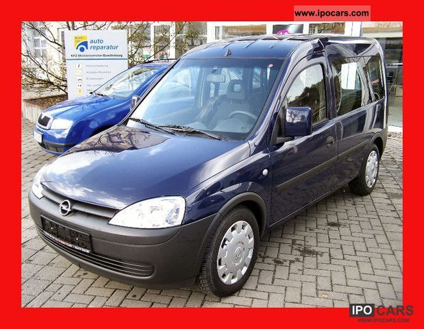 Opel  Combo 1.6 CNG AC / CL / el FH 2007 Compressed Natural Gas Cars (CNG, methane, CH4) photo