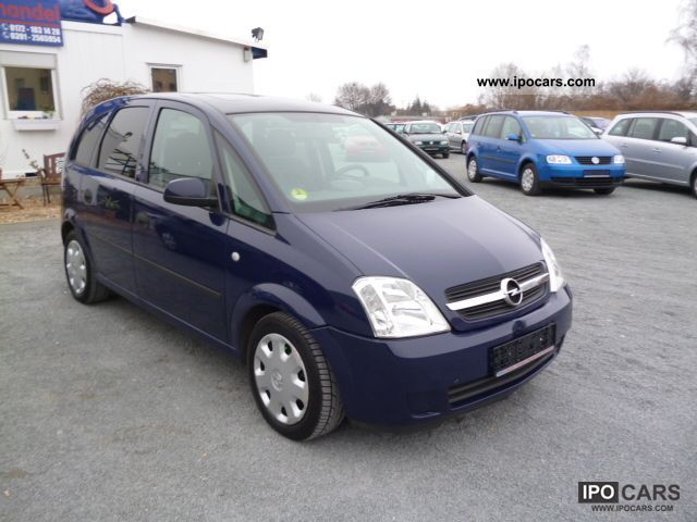 2004 opel meriva 1 7 dti car photo and specs. Black Bedroom Furniture Sets. Home Design Ideas