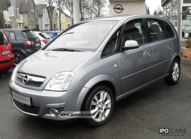 2008 opel meriva 1 8 16v cosmo from 1 hand car photo and specs. Black Bedroom Furniture Sets. Home Design Ideas