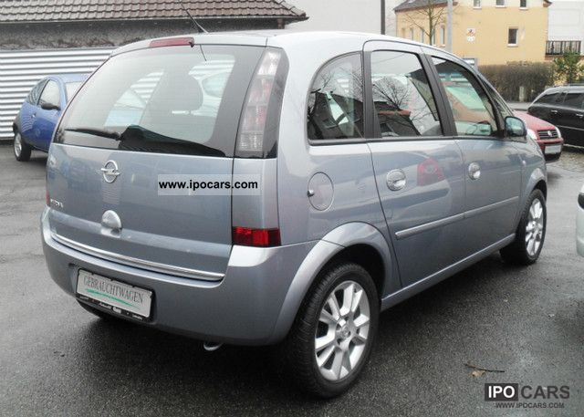 2008 Opel Meriva 1 8 16v Cosmo From 1 Hand Car Photo And Specs
