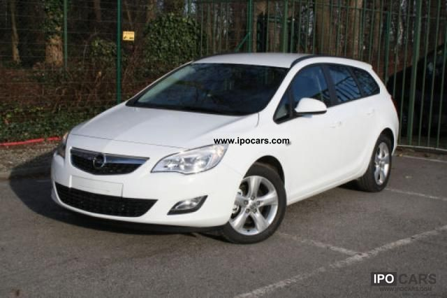 2011 Opel Astra 1.7 / CDTI 125PS Sport Tourer 1.7 CDTI 92kW Small Car